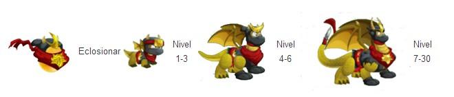 crecimiento del dragon ninja