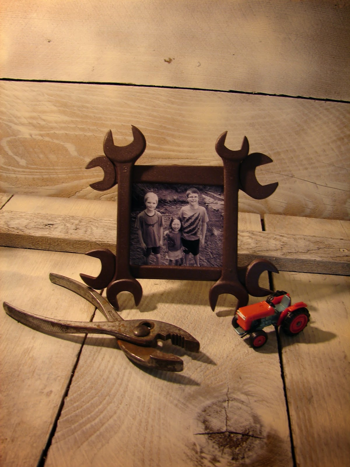 wrench frame - Wrench Picture Frame