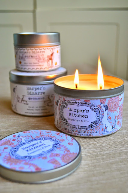 Harper's Vegan Soya Wax Candles