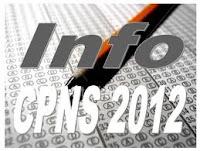 Pengumuman Hasil Test Tulis CPNS 2012