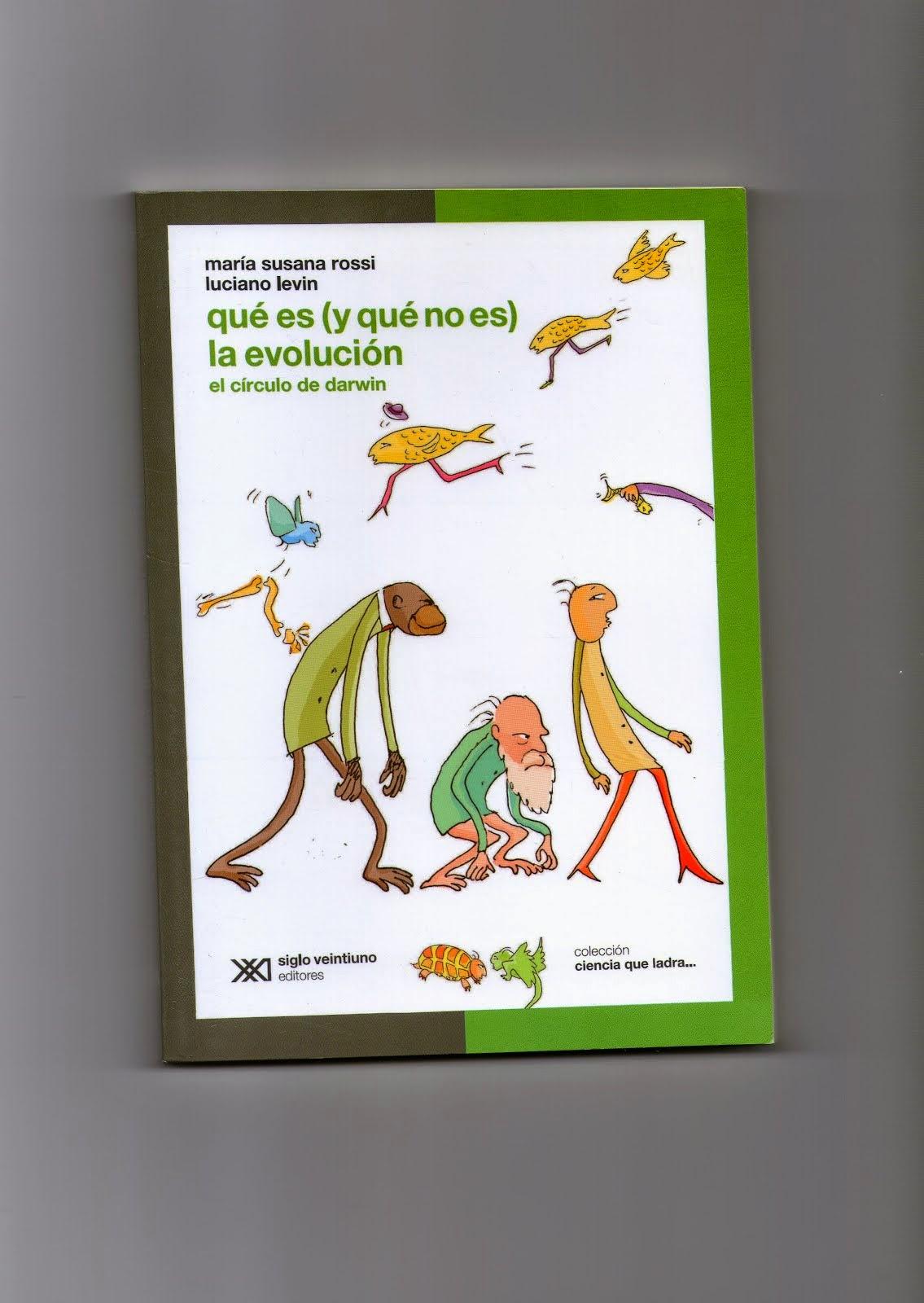 UN LIBRO  FACIL Y DIVERTIDO PARA ENTENDER EVOLUCION