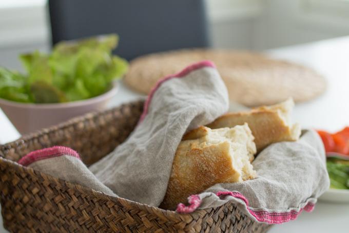 rainbow paistovalmis patonki leipä