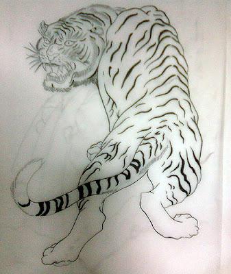 Japanese Tattoo Sketch