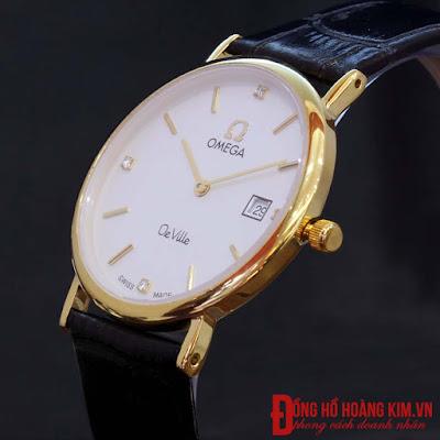 đồng hồ nữ dây da Omega MSN09