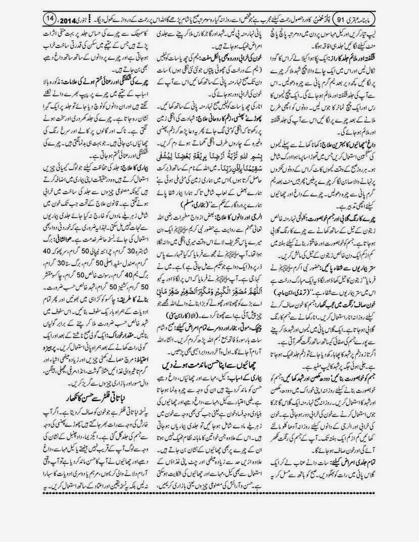 page 14 ubqari january 2014