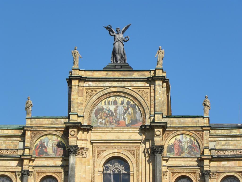 Maximilianeum in Munich struck me 100