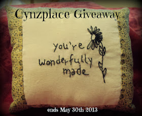 Giveaway at Cynzplace