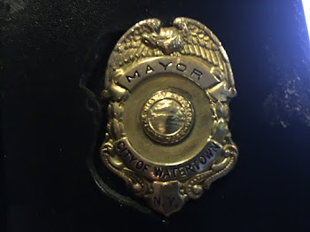 Mayoral Badge a One of a Kind Treasure