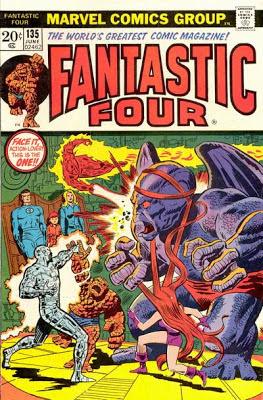 Fantastic Four #135, Dragon Man