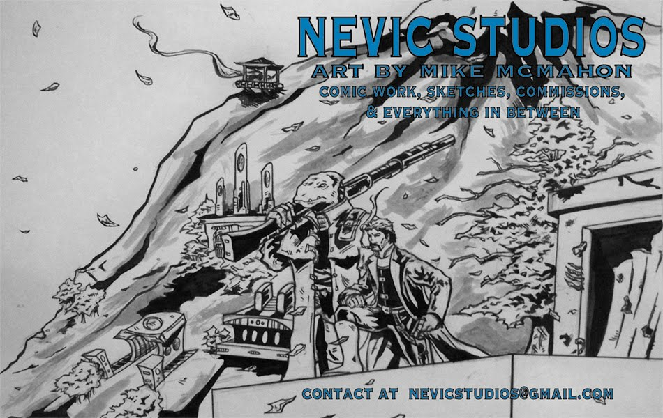 Nevic Studios--Art By Mike McMahon