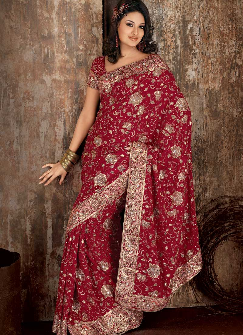 Indian wedding sari enter your blog name here for Indian wedding dresses online india