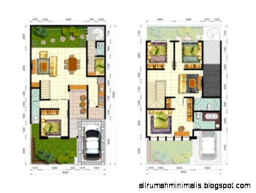 desain rumah minimalis 1 lantai 2 kamar tidur design