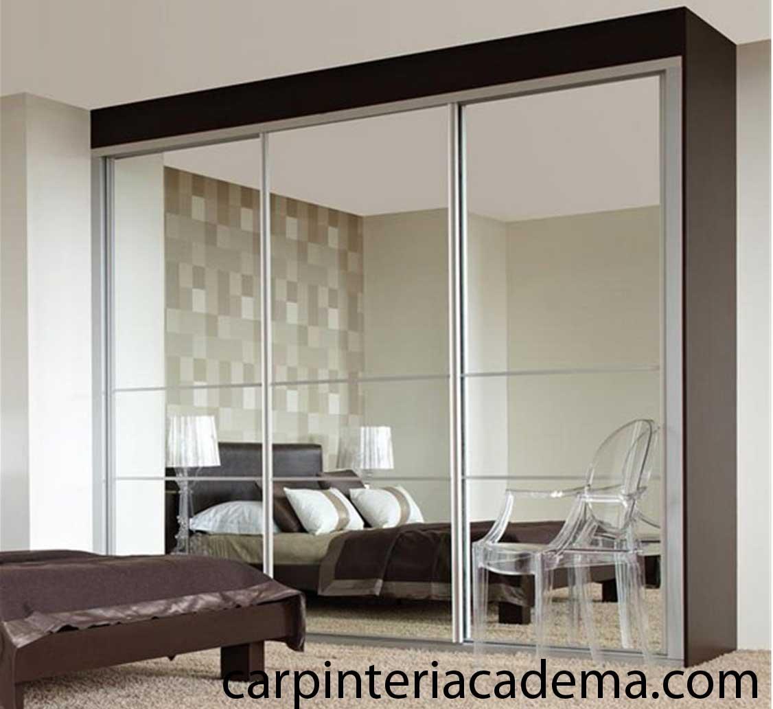Armarios y vestidores sevilla armarios puertas correderas for Armario con espejo