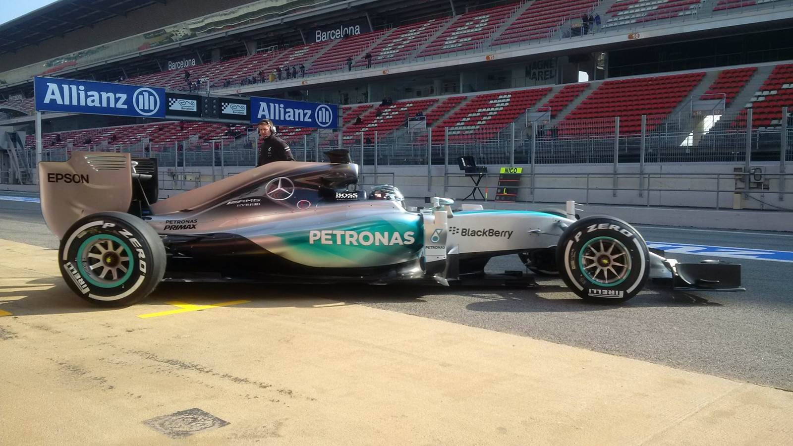 Mercedes W06 Hybrid - Nico Rosberg