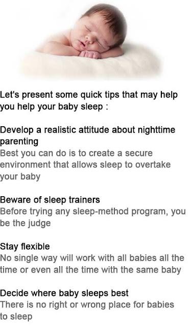 How to help a baby sleep