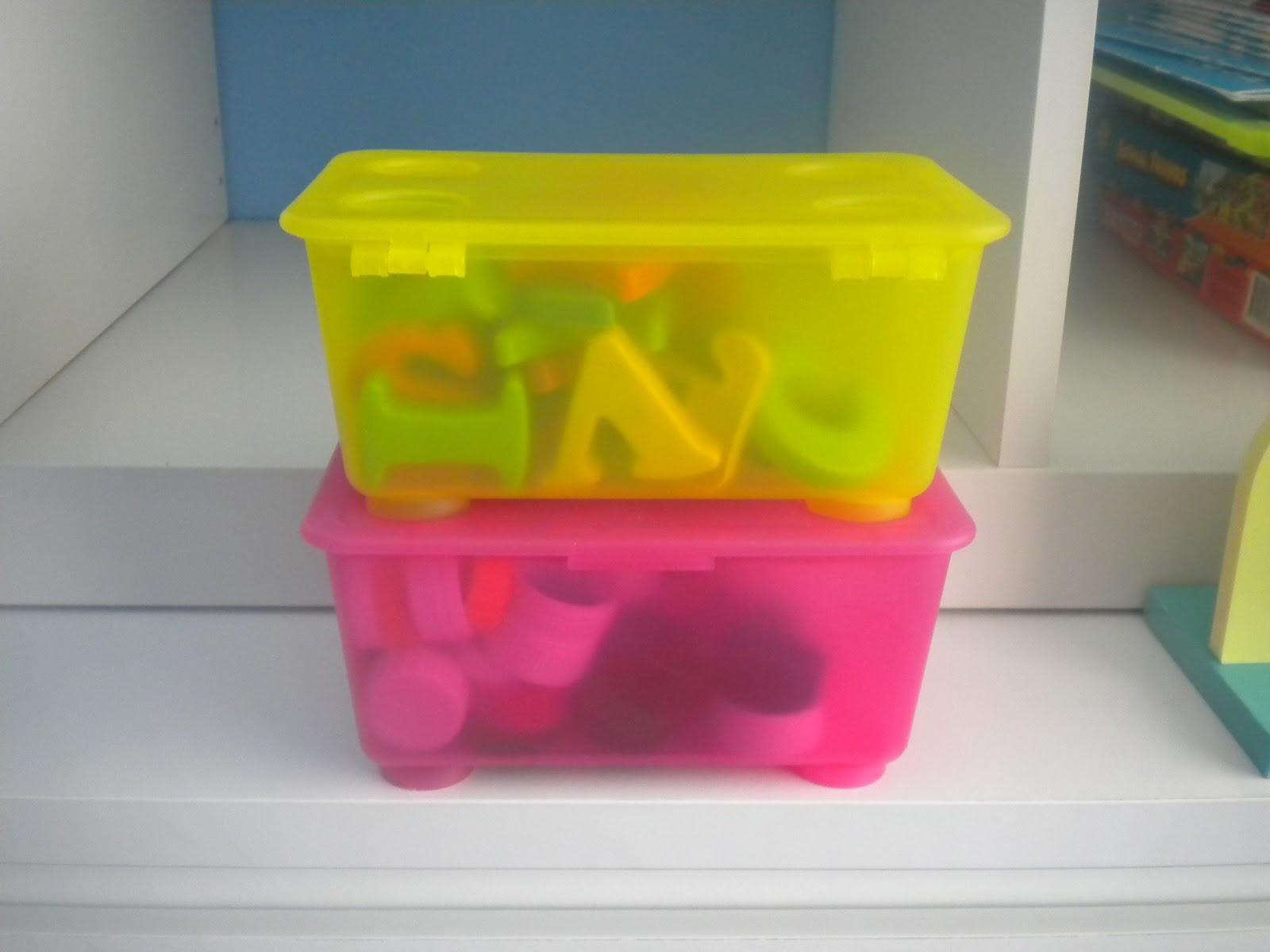 B aprende en casa taller preparamos cajas y botes - Botes plastico ikea ...