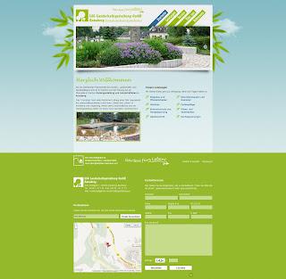 LSG Landschaftsgestaltung Webseite von Bitskin