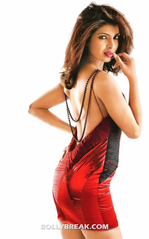 Priyanka chopra Hot Backless Dress Wallpaper - Priyanka chopra Hot Backless Dress Wallpaper