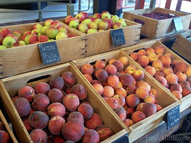 Red Apple Farm Boston Public Market indoor farmer's market open in Boston Blogger Tour
