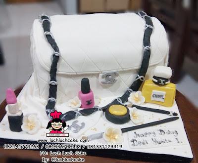 Kue Tart Tas Channel 3d Cake