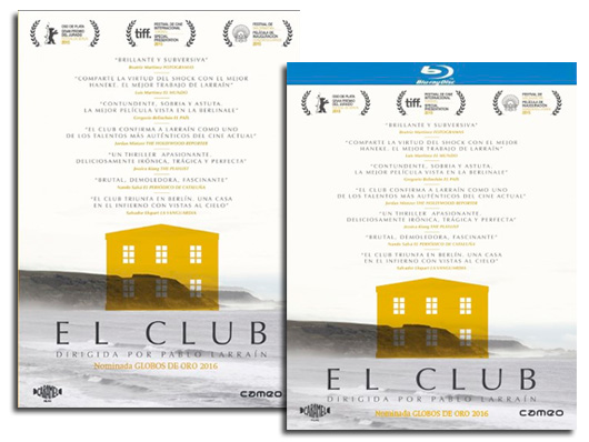 A la venta en DVD y Blu-ray 'El Club' de Pablo Larraín