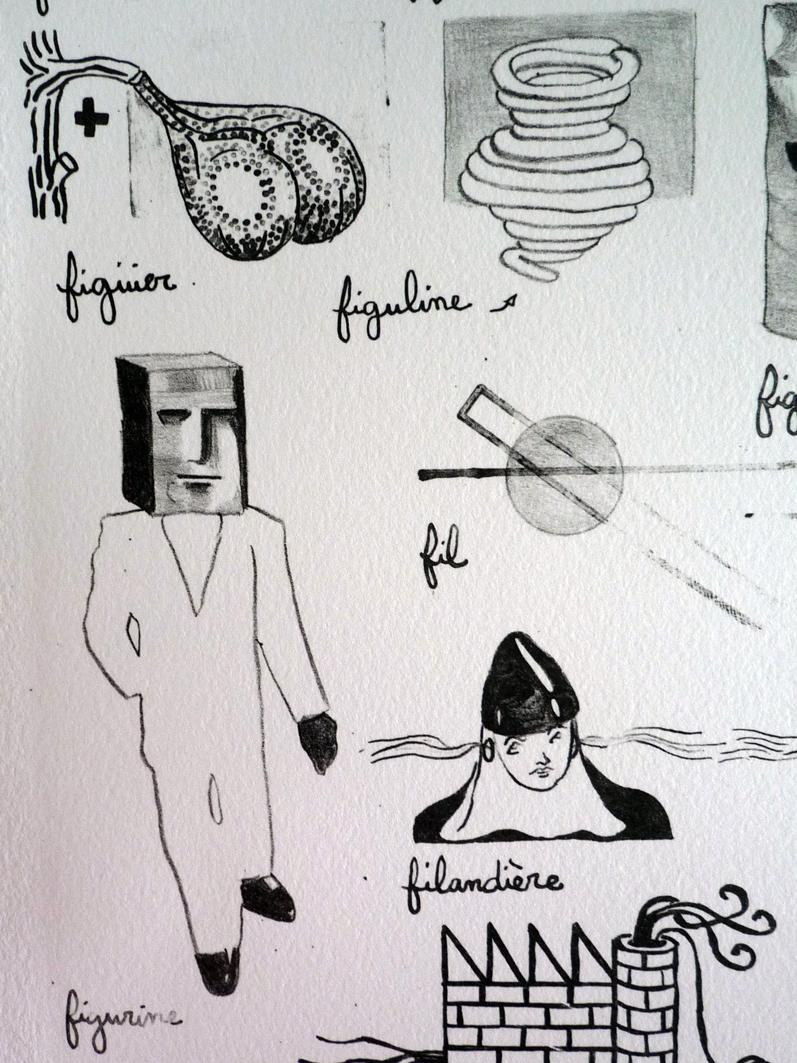 Larousse Liaudet Lithographie Saul Inge Pour Continuer Pas Pour Finir