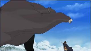 นางุริใช้ฮาคิคุณสมบัติแห่งราชันย์หยุดหมียักษ์