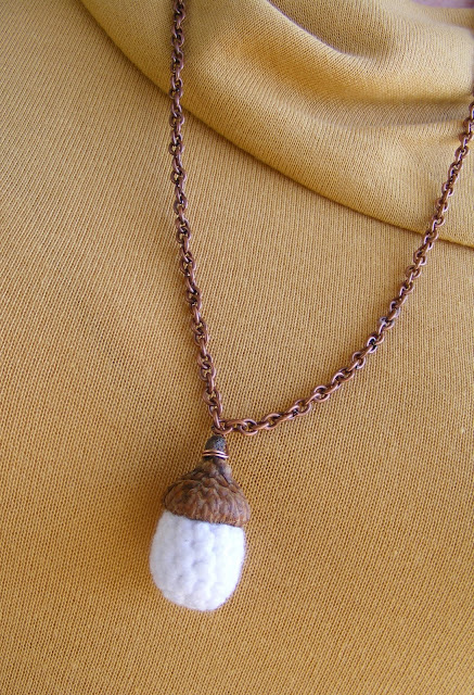 Bacon time with the hungry hypo acorn earrings and for Acorn necklace craft