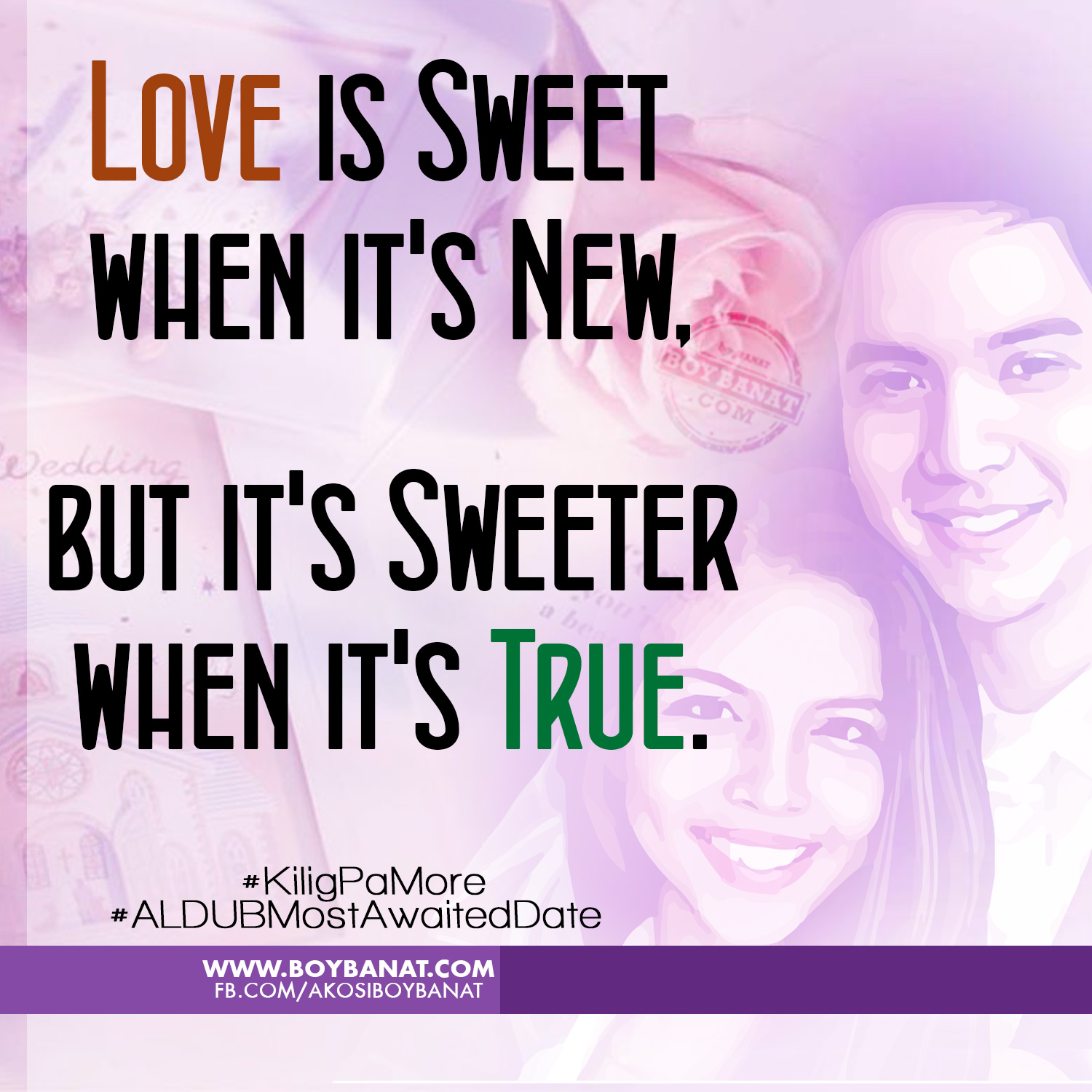 Meaningful Love Quotes Glamorous 5 Meaningful Love Quotes On Aldub's Most Awaited First Date  Boy