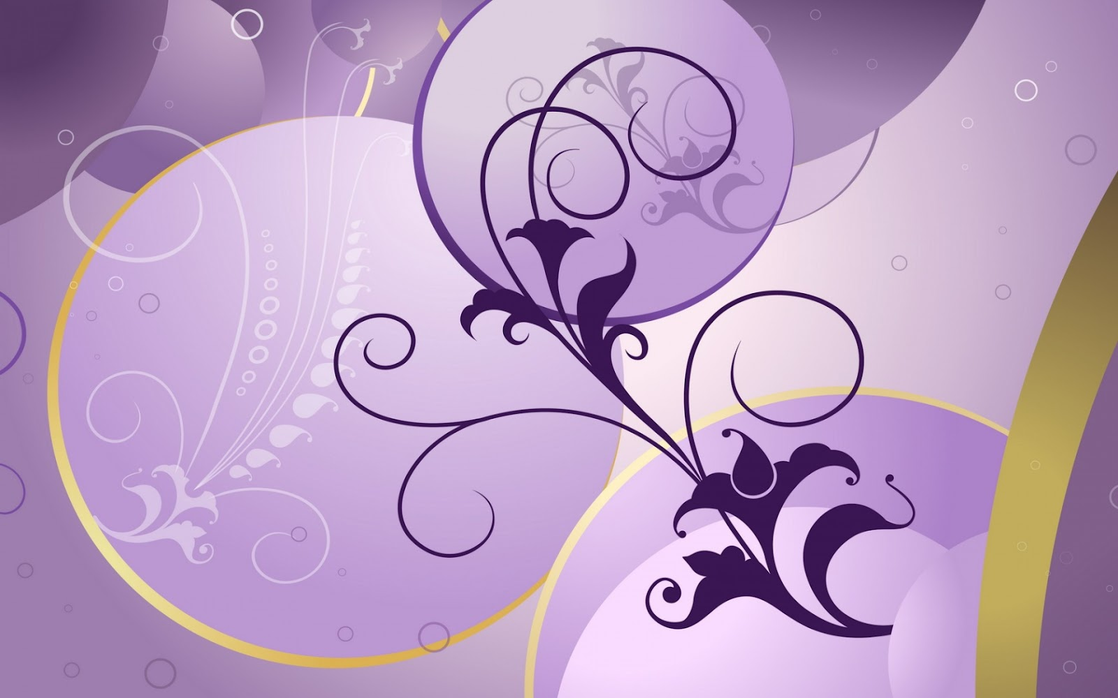 Simple Flowers Design Purple Background Wallpapers Here You Can See Or Download Picture Of