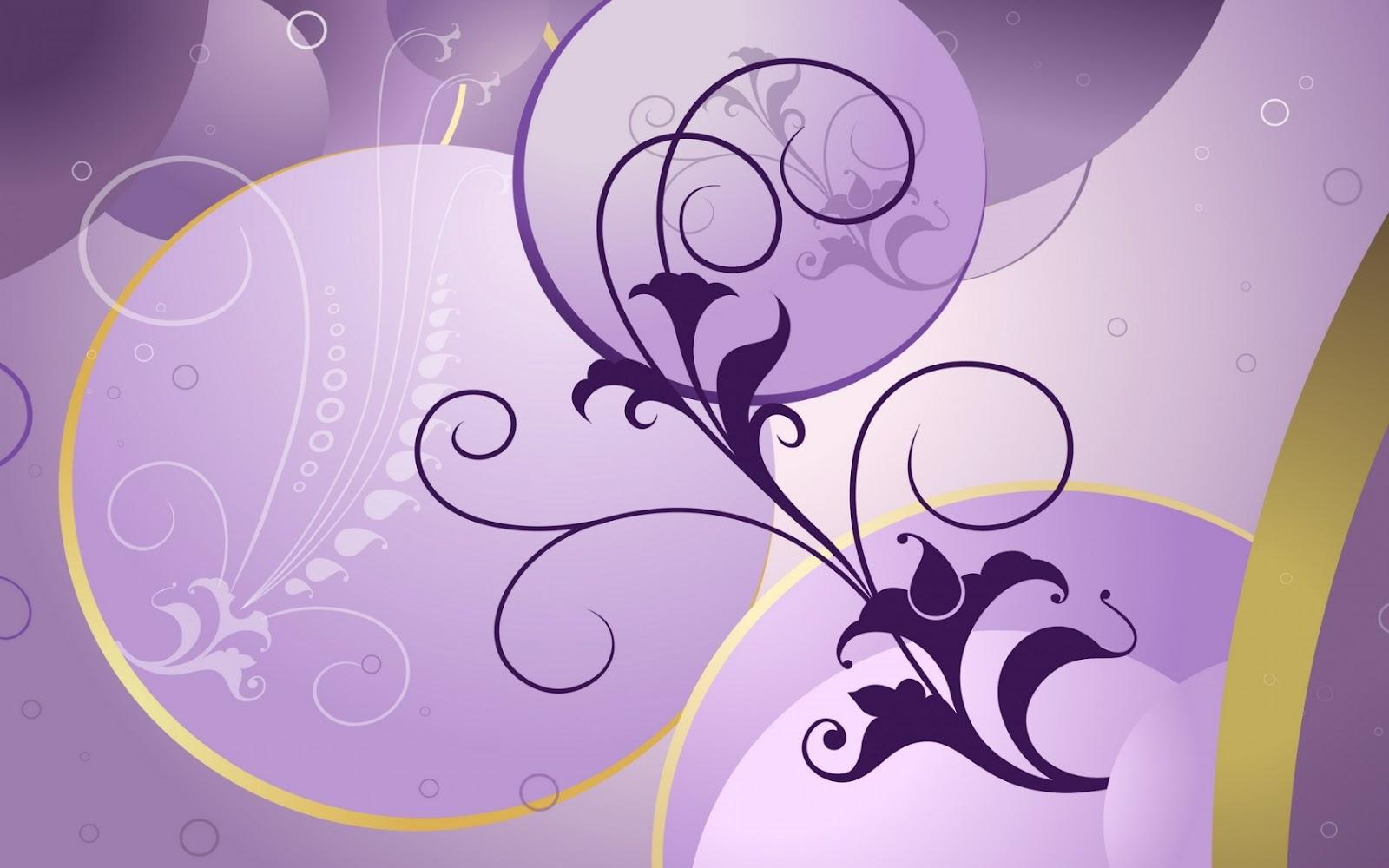 Purple Flowers Desktop Backgrounds