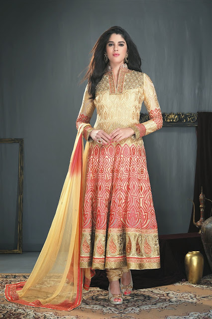 Awesome New Georgette Long Designer Anarkali Suit
