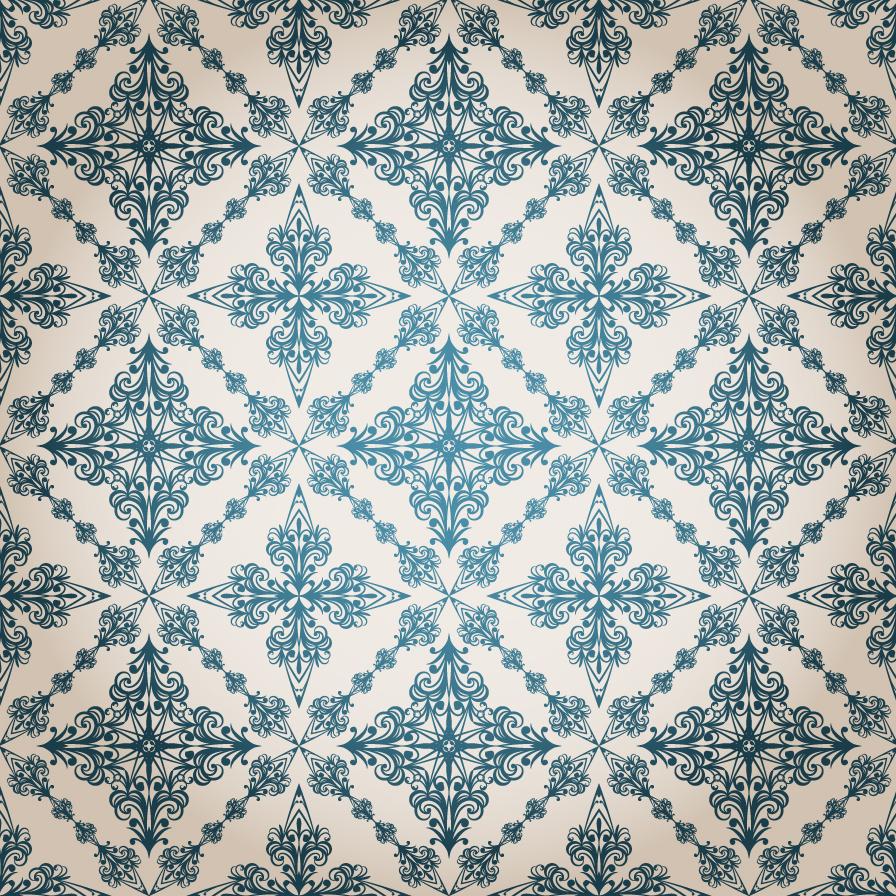 クラシック パターンの背景 Classic pattern vector background イラスト素材