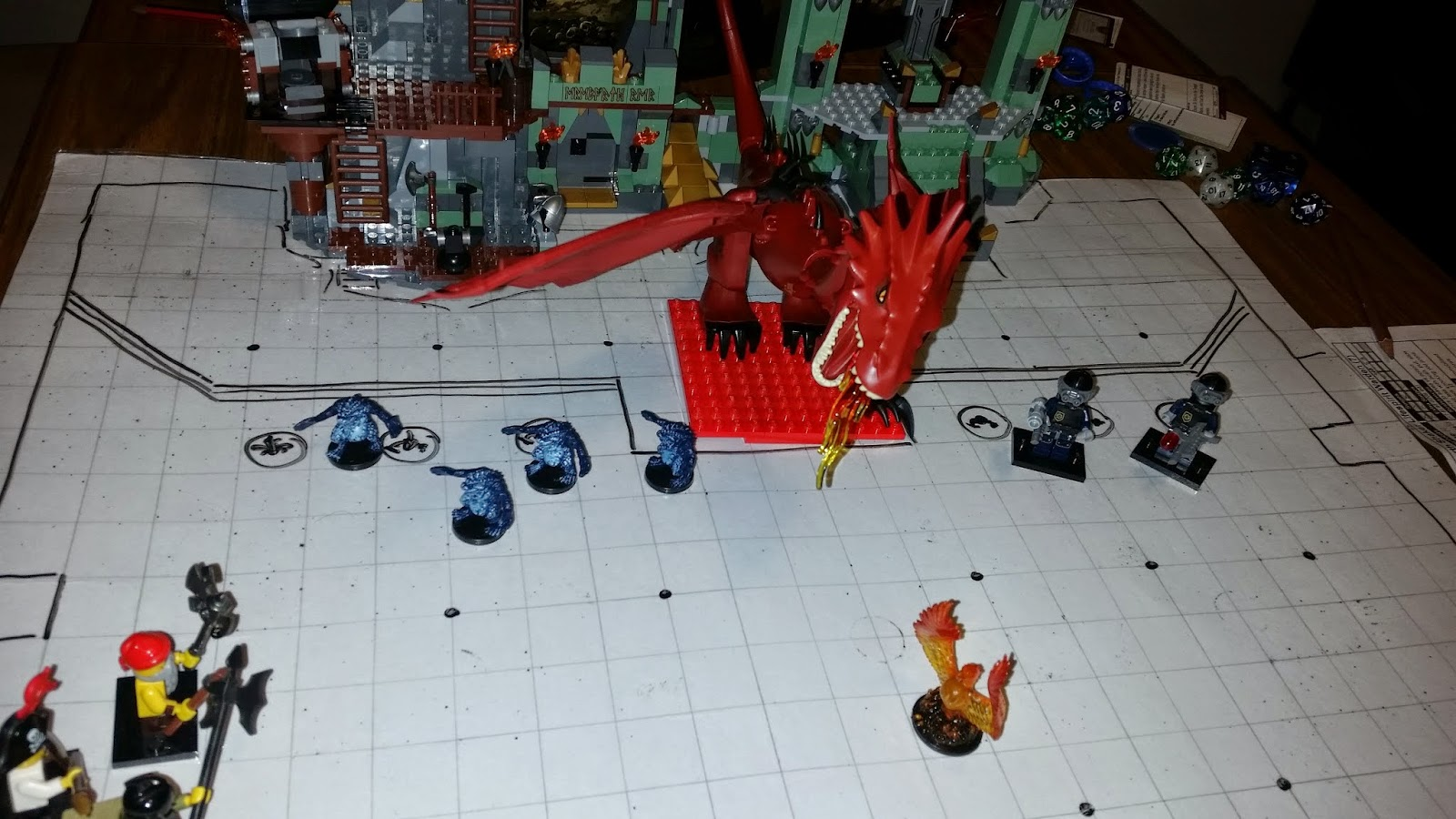 But of course I had to work Smaug into the game!
