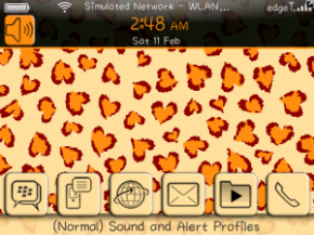 Love Cheetah Themes For BlackBerry