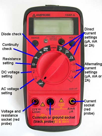 Hyderabad Institute Of Electrical Engineers  Multimeter