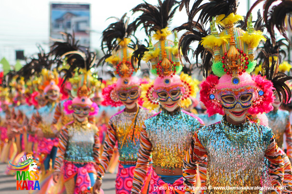 MassKara 2012 colorful street dance competition