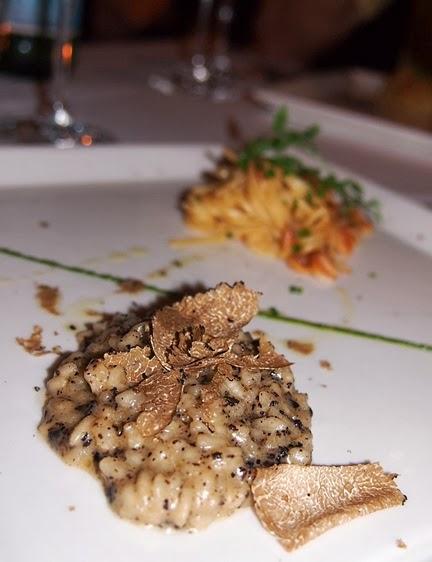 oso ristorante black truffle tartufo risotto review