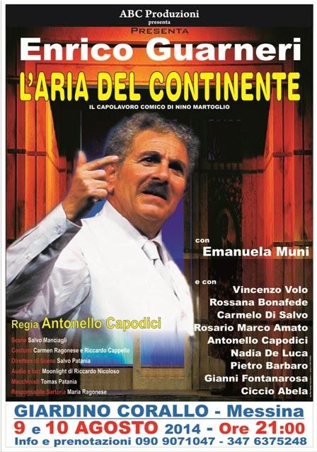 """AL GIARDINO CORALLO SI RESPIRA """"L'ARIA DEL CONTINENTE"""""""