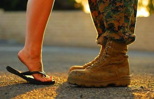 A ellas les gustan las medallas de guerra, a los hombres no