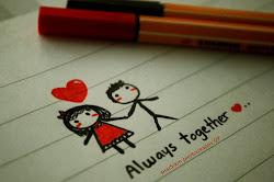 Dijiste juntos por siempre...