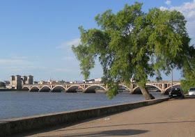 Ponte sobre o Rio Jaguarão vista desde Rio Branco