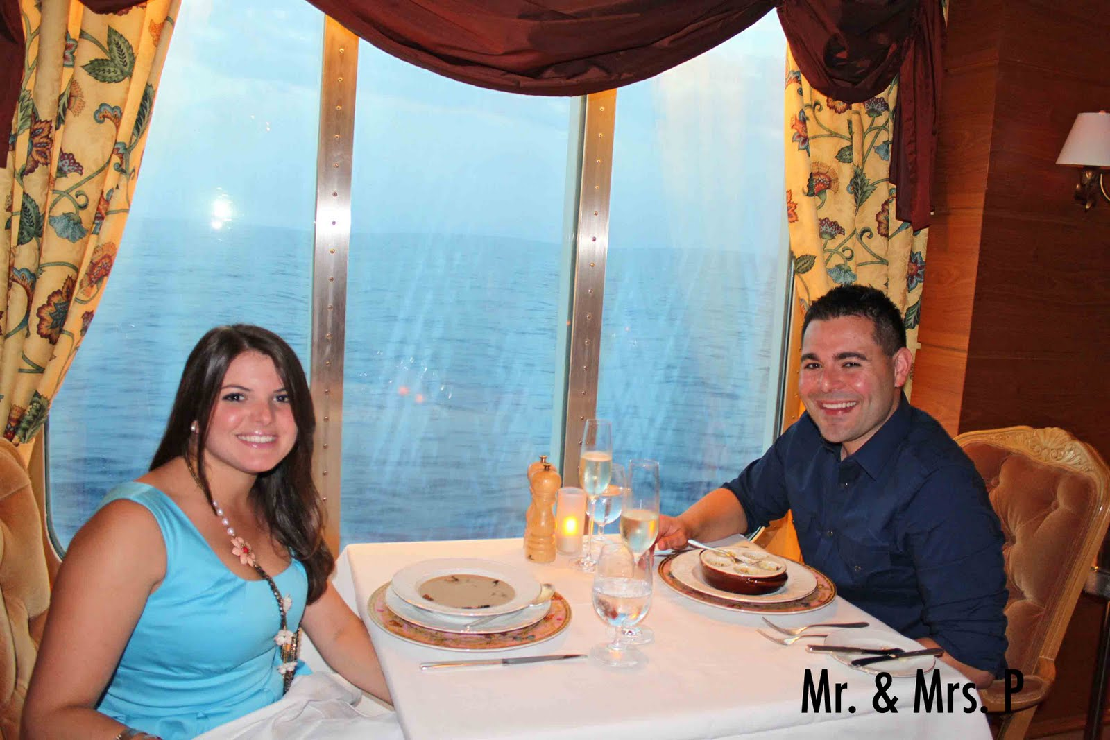 Mr. & Mrs. P: European Adventure: Anniversary Dinner at NCL's Le ...