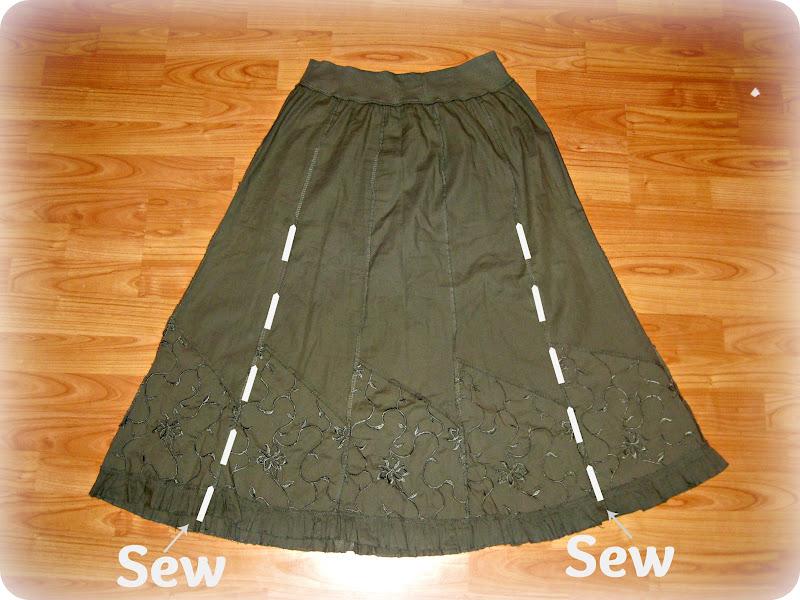Как сшить юбку из платья своими руками фото 48