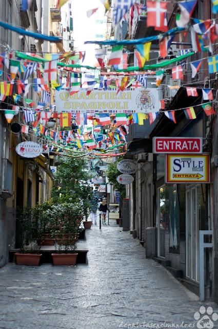 Barrio de los Españoles de Napoles