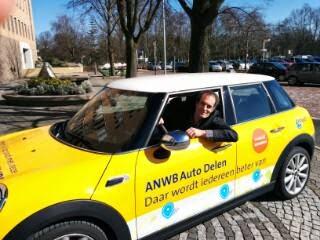 Ronald Haverman van MyWheels in ANWB Auto Delen Mini