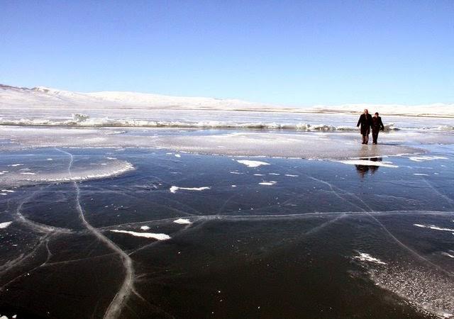 Çıldır Gölü Buz