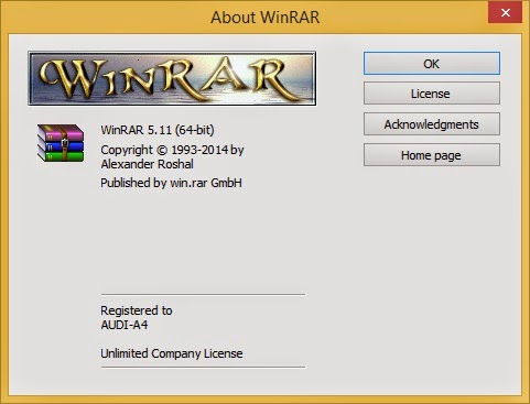 Download WinRAR 5.11 Stable Version
