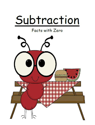 Fern Smith's Classroom Ideas Subtract Zero Center Game