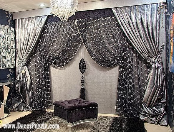 Top 20 Luxury Classic Curtains And Drapes Designs 2015